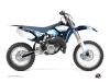 Yamaha 85 YZ Dirt Bike Hangtown Graphic Kit Blue