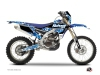 Yamaha 250 WRF Dirt Bike Predator Graphic Kit Blue