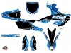 Yamaha 250 YZF Dirt Bike Predator Graphic Kit Blue