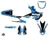 Yamaha 450 YZF Dirt Bike Predator Graphic Kit Blue