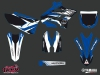 Yamaha 250 YZ Dirt Bike Pulsar Graphic Kit