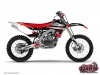 Kit Déco Moto Cross Pulsar Yamaha 250 YZ Rouge