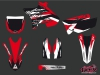 Yamaha 125 YZ Dirt Bike Pulsar Graphic kit UFO Relift Red