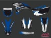Yamaha 250 YZF Dirt Bike Pulsar Graphic Kit