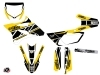 Kit Déco Moto Cross Replica Yamaha 85 YZ Jaune