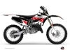 Yamaha 125 YZ Dirt Bike Replica Graphic Kit Red
