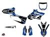 Kit Déco Moto Cross Replica Yamaha 250 YZ Bleu