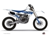 Yamaha 250 YZ Dirt Bike Replica Graphic Kit White Blue