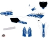 Kit Déco Moto Cross Replica Yamaha 250 YZ Blanc Bleu