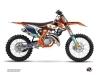 Kit Déco Moto Cross Replica Pichon KTM 250 SX