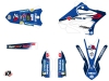 Kit Déco Moto Cross Replica Team 2b Yamaha 125 YZ LIGHT