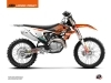 Kit Déco Moto Cross Replica Tixier Team VHR 2018-2019 KTM 250 SX