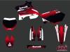 Kit Déco Moto Cross Slider Yamaha 250 YZ Rouge