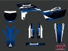 Yamaha 250 YZF Dirt Bike Slider Graphic Kit