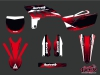 Kit Déco Moto Cross Slider Yamaha 250 YZF Rouge