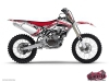 Yamaha 250 YZ Dirt Bike Spirit Graphic Kit Red