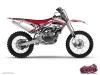 Yamaha 250 YZF Dirt Bike Spirit Graphic Kit Red