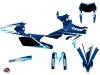 Yamaha 250 WRF Dirt Bike Stage Graphic Kit Blue
