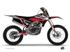 Kit Déco Moto Cross Stage Yamaha 250 YZF Noir Rouge