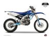 Yamaha 450 WRF Dirt Bike Stage Graphic Kit Blue LIGHT