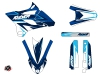 Yamaha 85 YZ Dirt Bike Stage Graphic Kit Blue LIGHT
