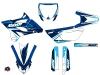 Kit Déco Moto Cross Stage Yamaha 85 YZ Bleu