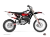Kit Déco Moto Cross Stage Yamaha 85 YZ Noir Rouge