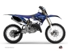 Kit Déco Moto Cross Stripe Yamaha 125 YZ Bleu