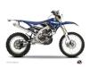 Kit Déco Moto Cross Stripe Yamaha 250 WRF Bleu