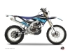 Kit Déco Moto Cross Stripe Yamaha 250 WRF Noir