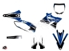 Yamaha 250 YZ Dirt Bike Stripe Graphic Kit Blue