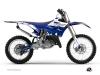 Kit Déco Moto Cross Stripe Yamaha 250 YZ Bleu Nuit