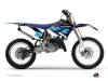 Yamaha 250 YZ Dirt Bike Stripe Graphic Kit Black