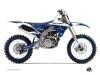 Kit Déco Moto Cross Stripe Yamaha 250 YZF Bleu Nuit