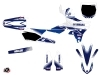 Yamaha 250 YZF Dirt Bike Stripe Graphic Kit Night Blue
