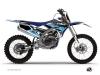 Yamaha 250 YZF Dirt Bike Stripe Graphic Kit Black