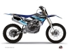 Kit Déco Moto Cross Stripe Yamaha 250 YZF Noir