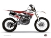 Kit Déco Moto Cross Stripe Yamaha 250 YZF Rouge