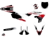 Yamaha 250 YZF Dirt Bike Stripe Graphic Kit Red
