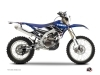 Kit Déco Moto Cross Stripe Yamaha 450 WRF Bleu