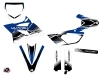 Yamaha 85 YZ Dirt Bike Stripe Graphic Kit Blue