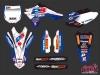 Yamaha 450 YZF Dirt Bike Replica Team 2b Graphic Kit 2013