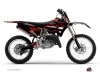 Kit Déco Moto Cross Techno Yamaha 125 YZ Rouge