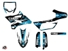 Yamaha 85 YZ Dirt Bike Techno Graphic Kit Blue