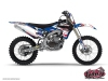 Yamaha 450 YZF Dirt Bike Replica Thomas Allier Graphic Kit 2012