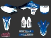 Yamaha 450 YZF Dirt Bike Replica Thomas Allier Graphic Kit 2013