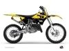 Kit Déco Moto Cross Vintage Yamaha 250 YZ Jaune