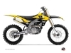 Yamaha 450 YZF Dirt Bike Vintage Graphic Kit Yellow
