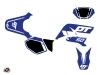 Yamaha DT 50 50cc Vintage Graphic Kit Blue