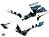 Kit Déco Quad Visor Polaris 550-850-1000 Sportsman Touring Bleu